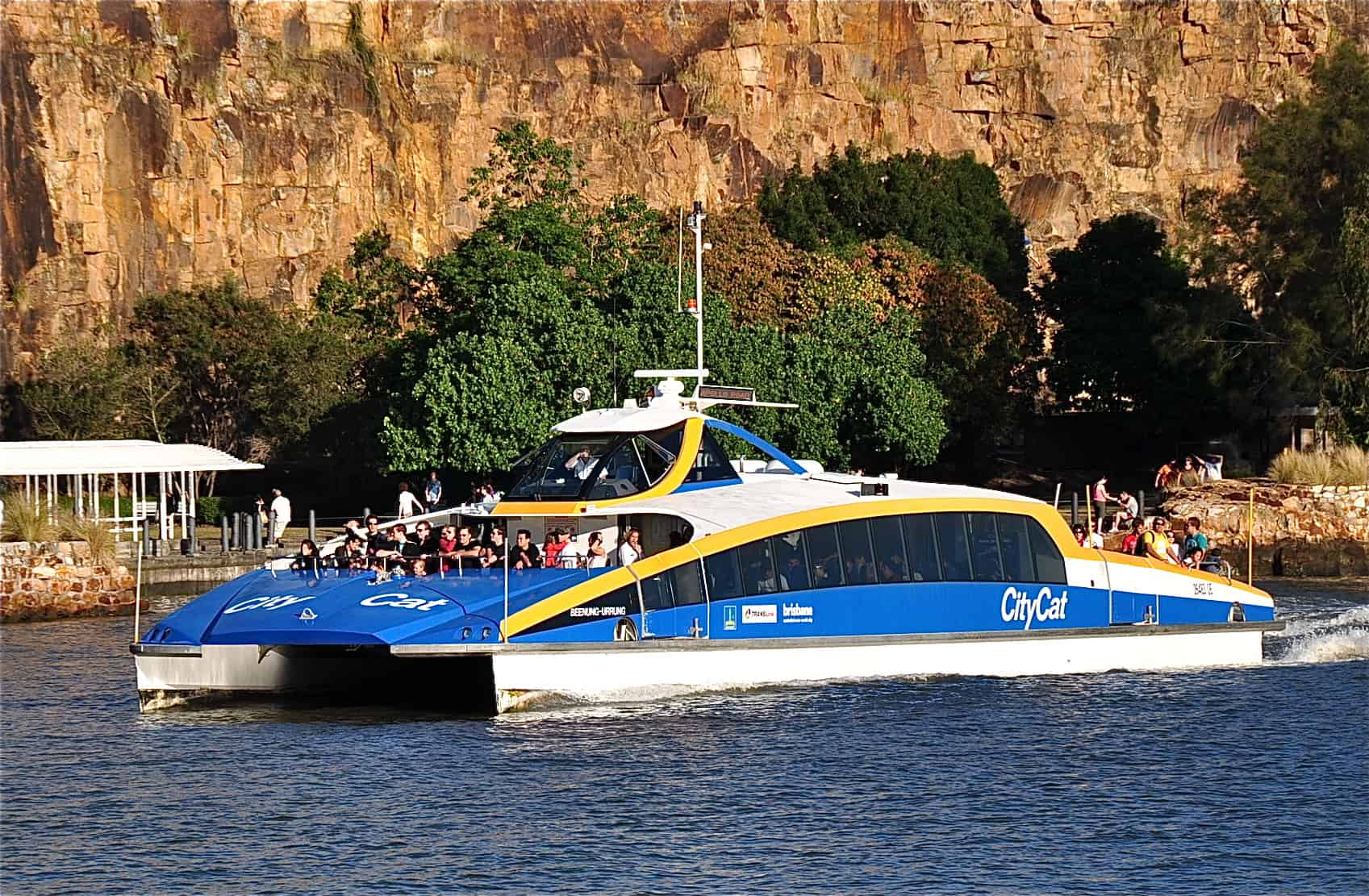 Ferries built by Norman Wrights are the City Cat fleets you see on the Brisbane river everyday.