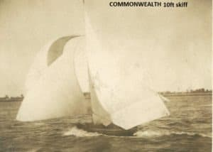 Commonwealth with watersail